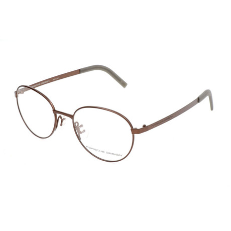 Men's P8315 Optical Frames // Brown