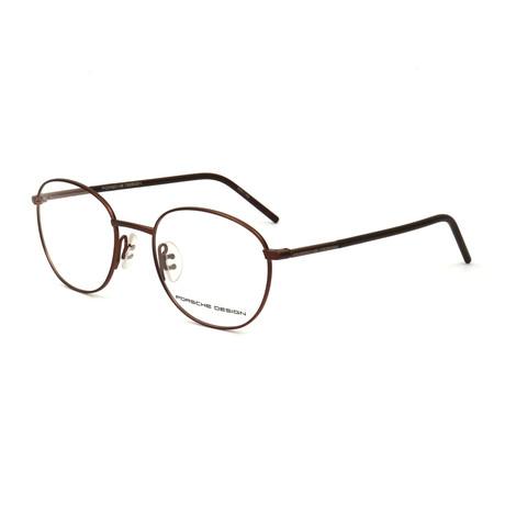 Men's P8330 Optical Frames // Brown