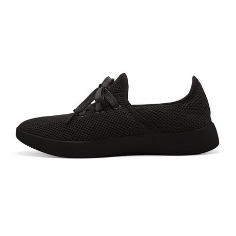 Women's Breezy Laced Shoes // Black (Women's US Size 5)