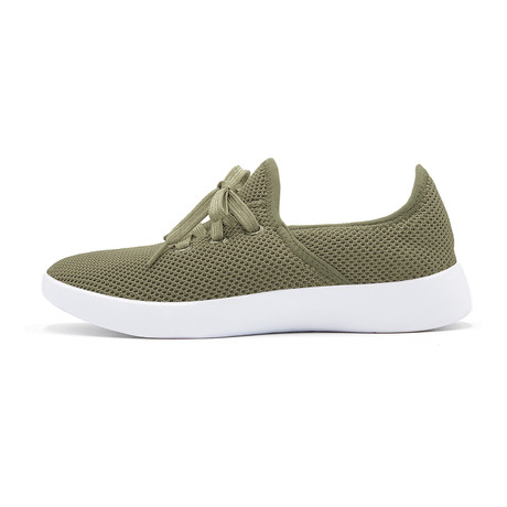 Women's Breezy Laced Shoes // Olive (Women's US Size 5)