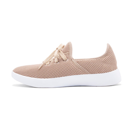 Women's Breezy Laced Shoes // Khaki (Women's US Size 5)