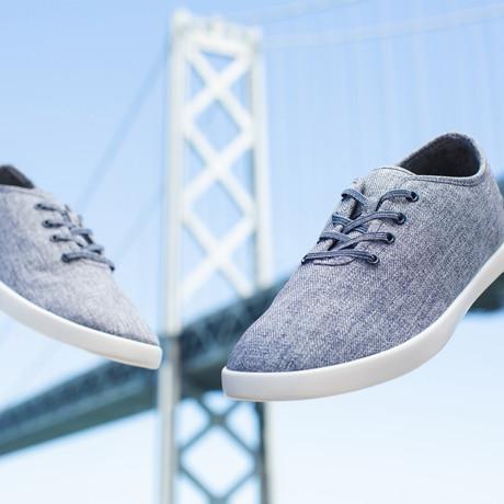 Women's Loungy Laced Shoes // Denim (Women's US Size 5)