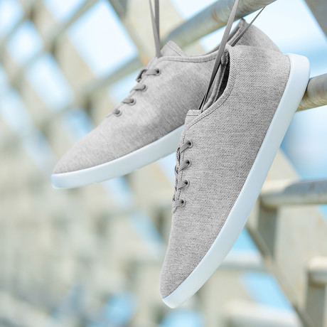 Women's Loungy Laced Shoes // Gray (Women's US Size 5)