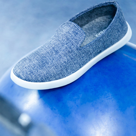 Women's Loungy Loafers // Denim (Women's US Size 5)