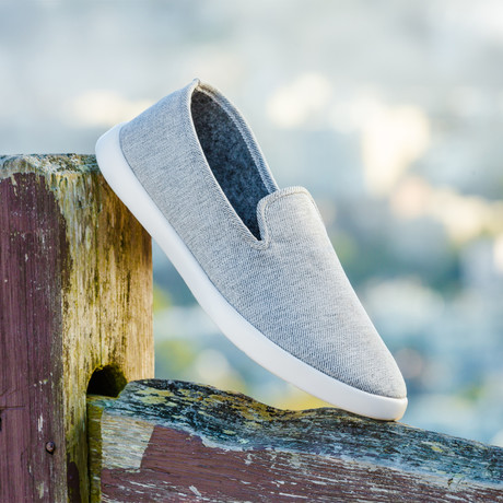Women's Loungy Loafers // Gray (Women's US Size 5)