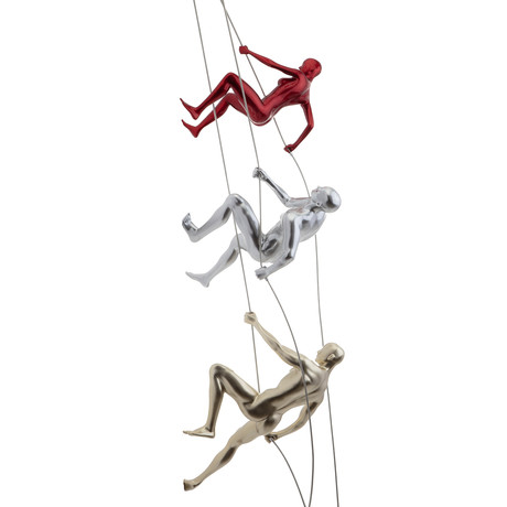 Climbers // Set Of 3 (Red + Silver + Gold)