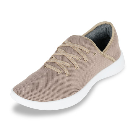 Men's Breezy Laced Shoes // Khaki (Men's US Size 7)