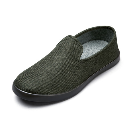 Men's Loungy Loafers // Olive (Men's US Size 7)