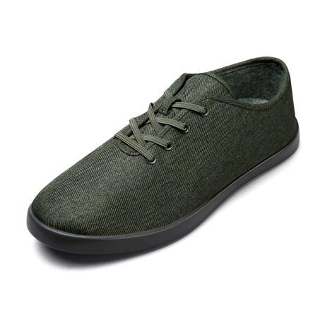 Men's Loungy Laced Shoes // Olive (Men's US Size 7)