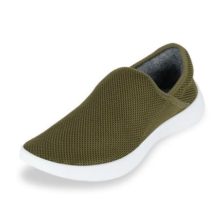 Men's Breezy Loafers // Olive (Men's US Size 7)