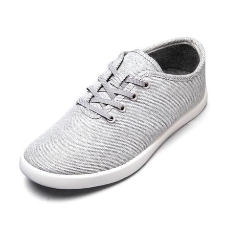 Men's Loungy Laced Shoes // Gray (Men's US Size 7)