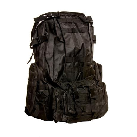 Something Spacious Backpack // Black