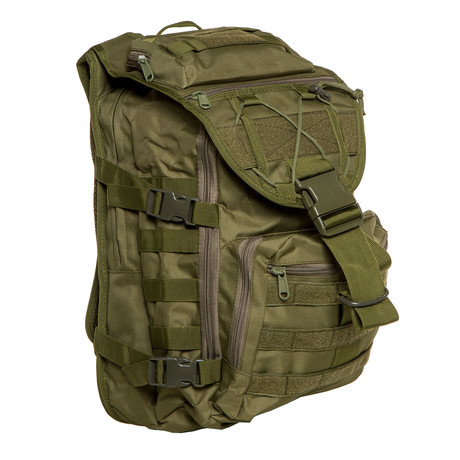 Something Tough Backpack // Solid Green