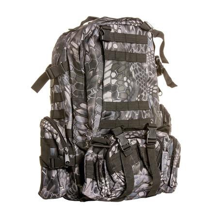 Something Spacious Backpack // Black Python