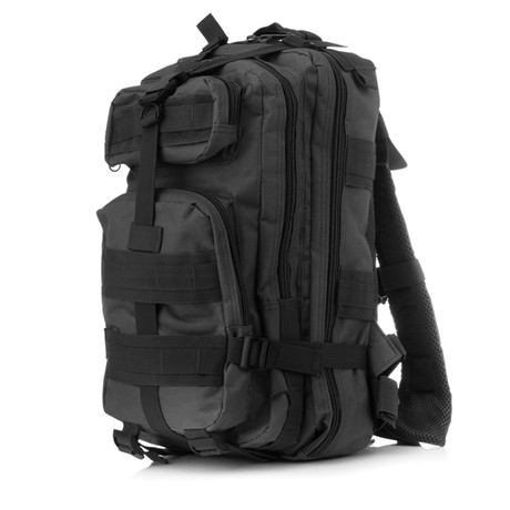 Mid Size Tactical Backpack // Charcoal