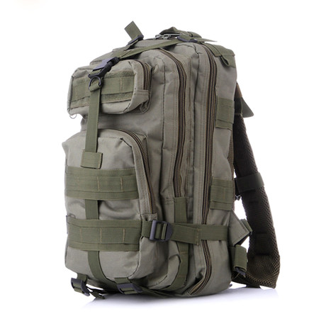 Mid Size Tactical Backpack // Green