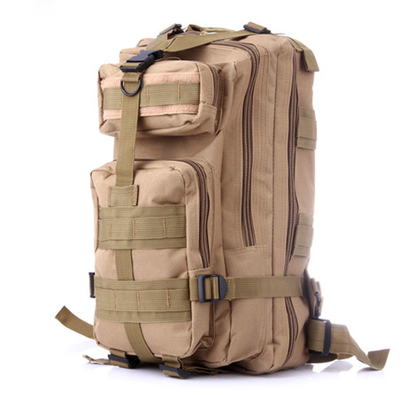 Mid Size Tactical Backpack // Beige