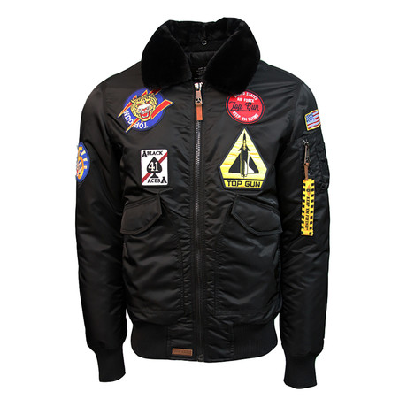 Flying Cadet Jacket V1 // Black (XS)