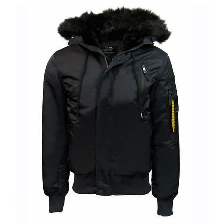 N-2B Nylon Jacket // Black (XS)