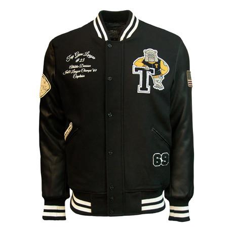 Flying Cadet Jacket V2 // Black (XS)
