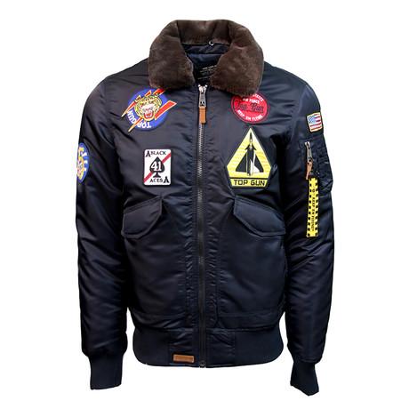 Flying Cadet Jacket // Navy (XS)