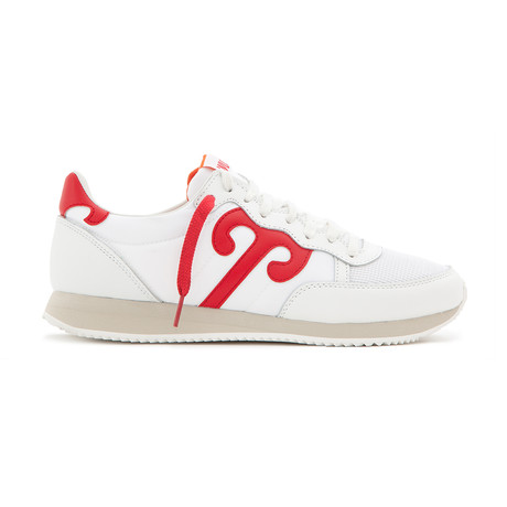 Tiantan 212 Sneaker // White + Red (Euro: 36)