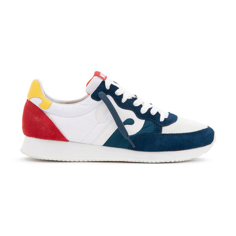 Tiantan 208 Sneaker // White + Blue + Red (Euro: 36)