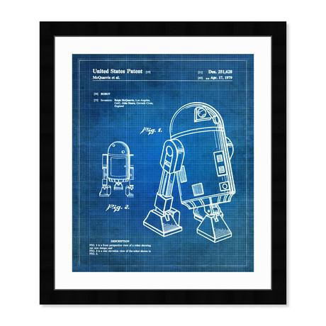 """Robot II, 1979 (20""""H x 17""""W x 0.5""""D)"""