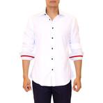 Kyler Long Sleeve Button Up Shirt // White (XL)