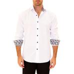 Louis Long Sleeve Button Up Shirt // White (2XL)