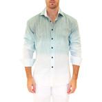 Ombre Shirt // Green (S)