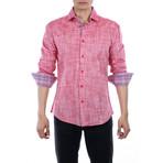 Lim Button Up Shirt // Red (2XL)