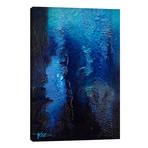 """Deep Blue Coral // Michael Goldzweig (12""""W x 18""""H x 0.75""""D)"""