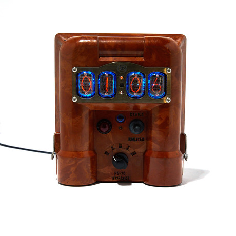 Mini Geiger Counter Clock