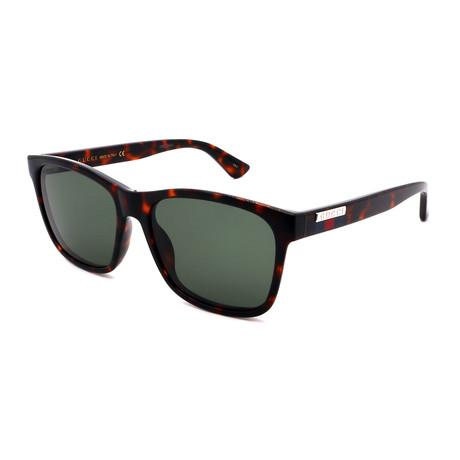 Unisex GG0746-003 Square Sunglasses // Havana