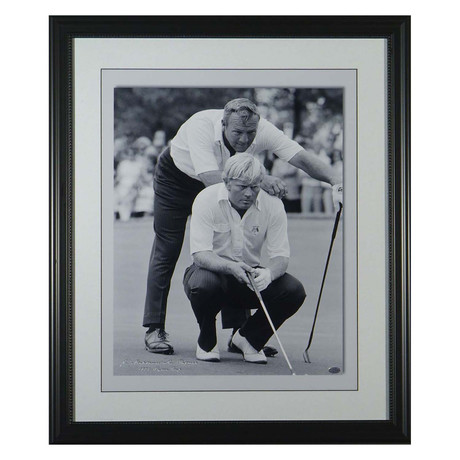 Nicklaus Palmer Ryder Cup // Collectible Display