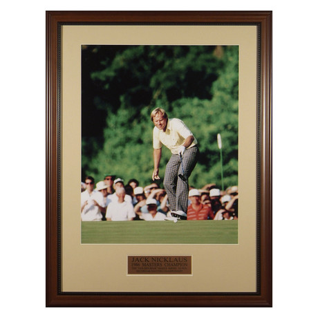 Jack Nicklaus // Masters // Collectible Display