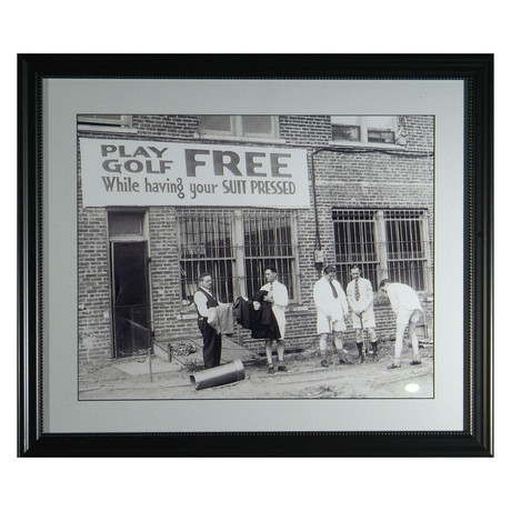 Free Golf // Collectible Display