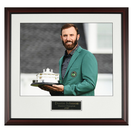 Dustin Johnson // 2020 Masters // Collectible Display