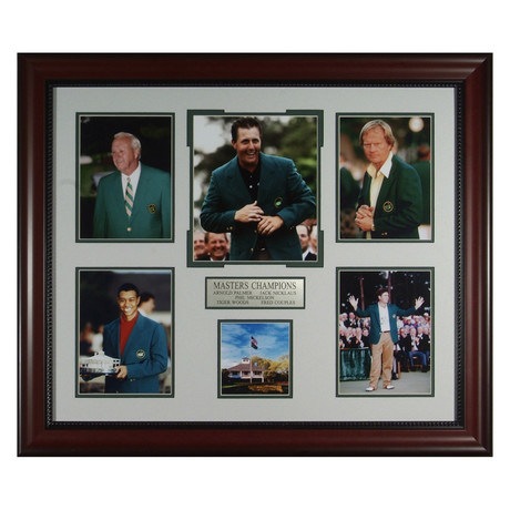 Masters Champions // Collectible Display