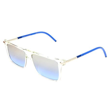 Unisex 46-S TMD Sunglasses // Crystal Blue