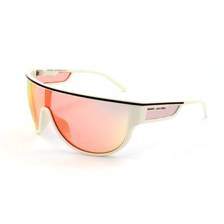 Unisex 410-S VK6 Sunglasses // White