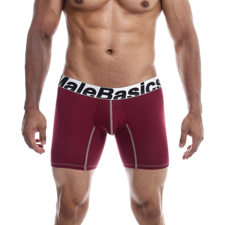 Microfiber Boxer Brief // Burgundy (S)