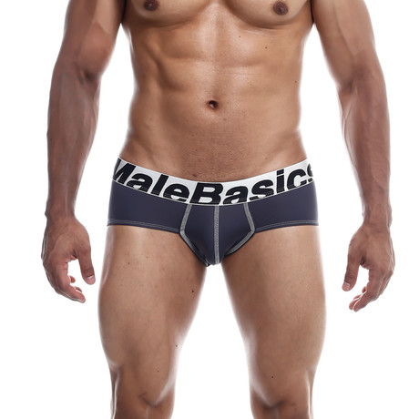 Microfiber Brief // Gray (S)
