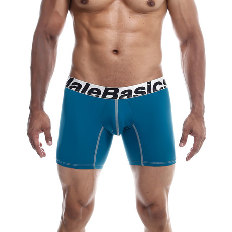 Microfiber Boxer Brief // Emerald (S)