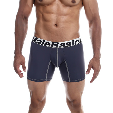 Microfiber Boxer Brief // Gray (S)
