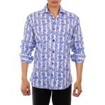 Walker Long Sleeve Button Up Shirt // White (XS)