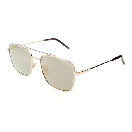 Fendi // Men's M0008 Sunglasses // Light Gold