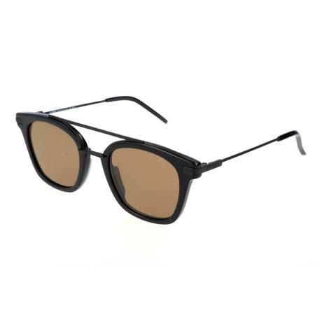 Fendi // Men's 224 Sunglasses // Black