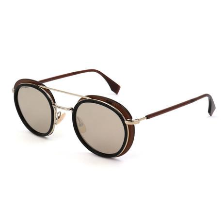 Fendi // Men's M0059 Sunglasses // Brown
